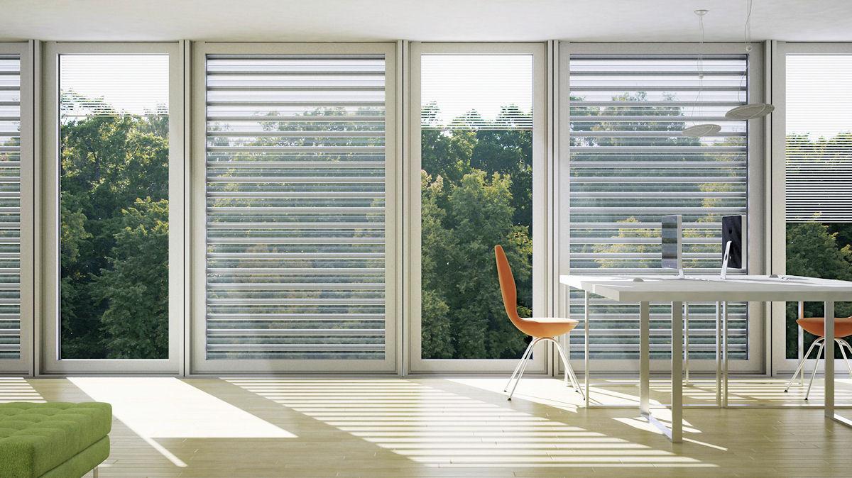 In eine Fassade integrierte Vakuumkollektoren_Energy-Mag