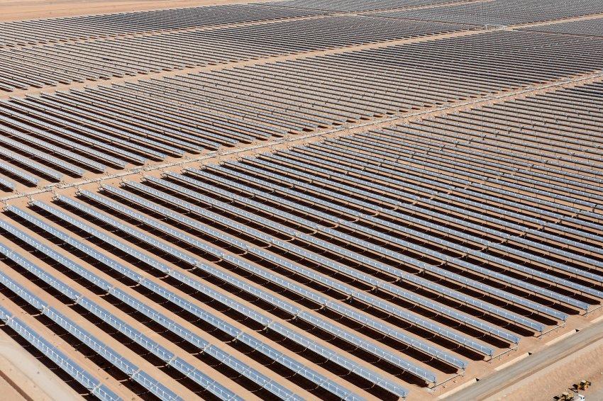 Weltgrößte Solaranlage - Noor 1 - Marokko