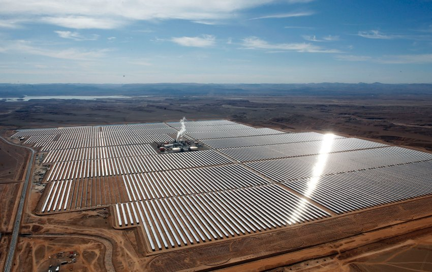 Weltgrößte Solaranlage - Marokko - Noor 1