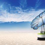 Mobile Solarblume für jedermann