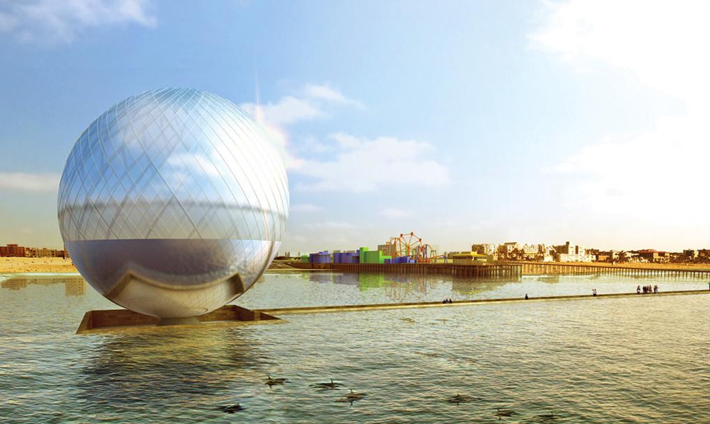 gigantische Kugel produziert Trinkwasser_Energy-mag