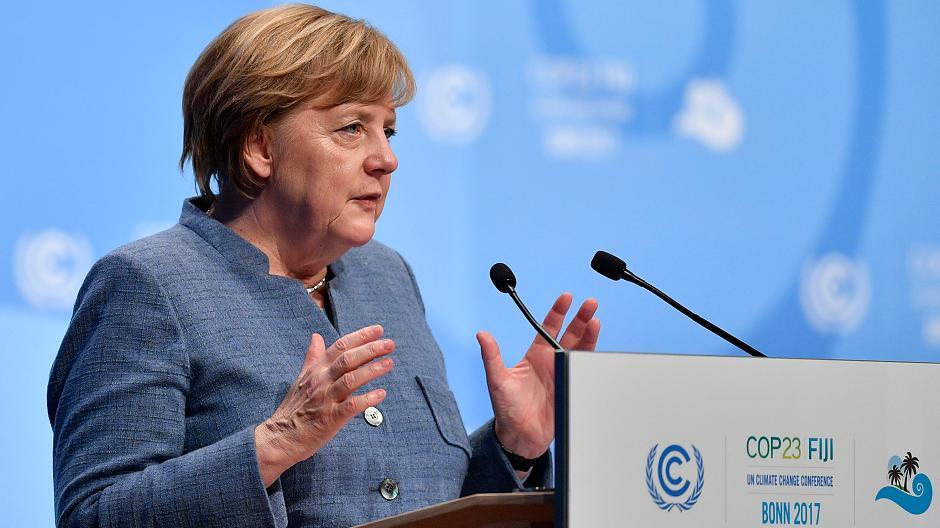 Angela Merkel Weltklima Konferenz Energy Mag