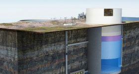 Gefällekraftwerk ohne Gefälle